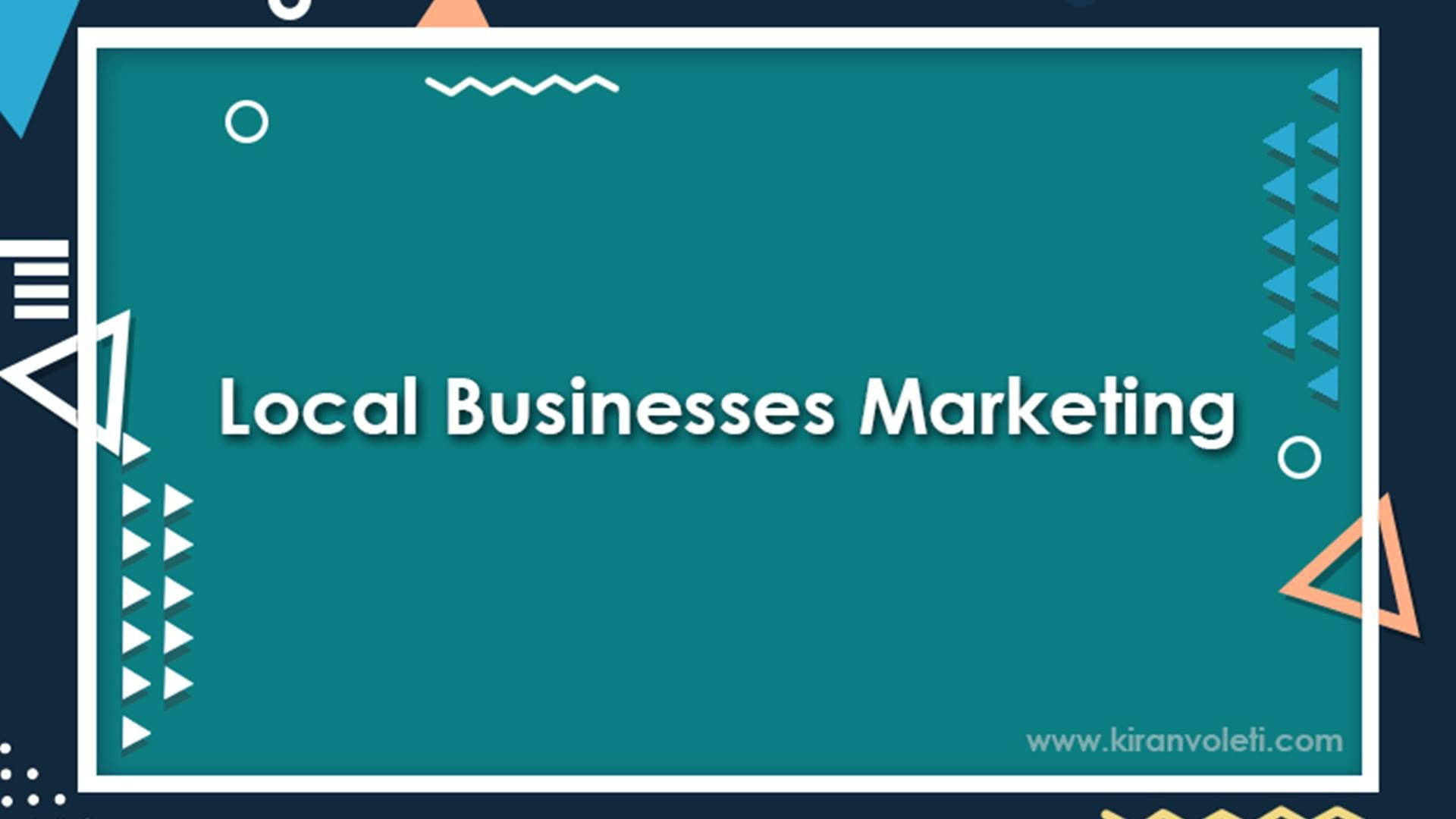 Local Businesses Marketing